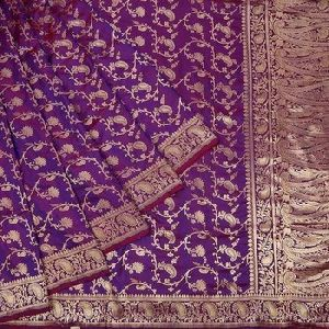 Saree Hand Made Indian Embroidery Designer Saree