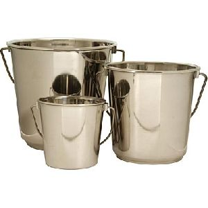 Stainless Steel Round Pails