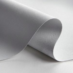 White Plain Blackout Fabric
