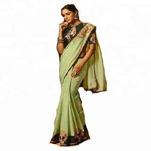 Indian Saree Blouse / Hand Work Saree Designs / Fancy Saree Blouse Designs