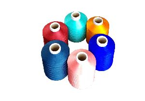 Polyester Cone Dyed Yarn