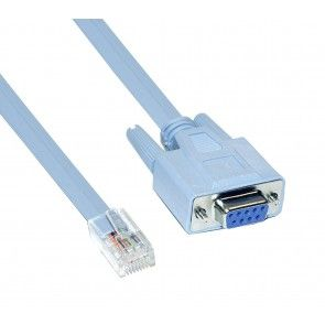 Ethernet Lan Rollover Console Cable