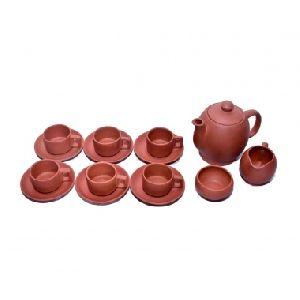 Tea Pot Set Clay Cup Saucer Milk Coffee Mug
