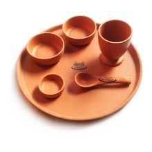 Terracotta Dinner Plate Set