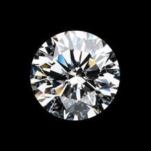 Clarity Synthetic Loose Brilliant Cut Diamond