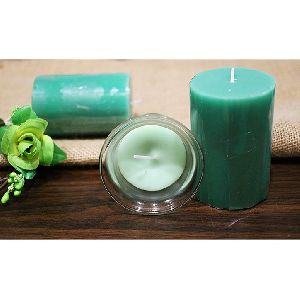 Green Apple Flavour Frangrant Candles Set