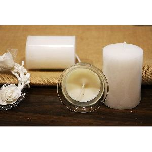 White Jasmine Frangrant Candles Set