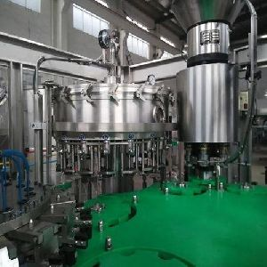 Fully Automatic Soft Drink Filling And Capping Machine
