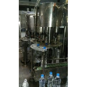 Mineral Water Filling And Capping Machine