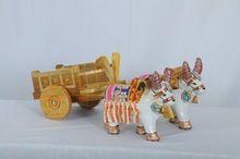 Pd Craft Wooden Bullock Cart