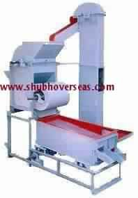Groundnut Decorticator With Blower Cleaner