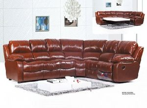 Morden Leisure Recliner Leather Sofa