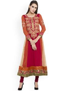 Embroidered Georgette Kurtis