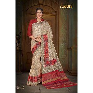 Banarasi Printed Saree