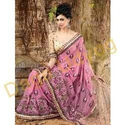 Hand Work Embroidered Sarees