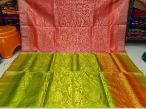 Pure Uppada Silk With Jamdani All Over Sarees-