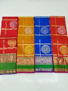Pure Kanchipuram Silk Handwoven Sarees