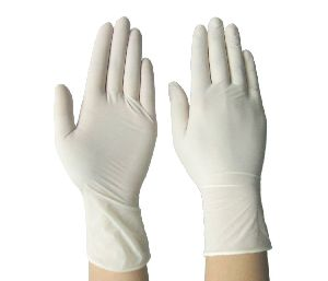 Latex Powdered Examination Gloves