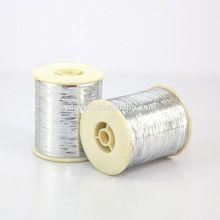 Silver Metallic Yarn