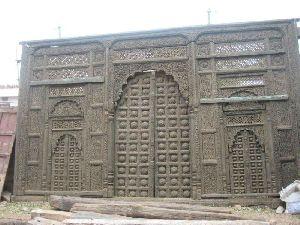 Wooden Carved Door Panel