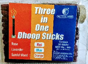 Three in One Dhoop Stick