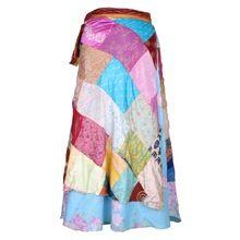 Magic Silk Wrap Skirt