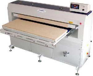Large format printing Heat press