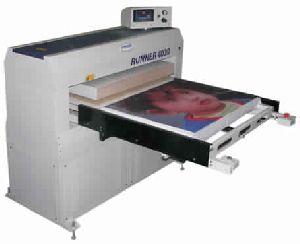 Large sublimation press