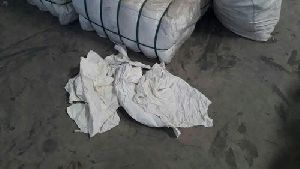 White Cotton Banian  Waste