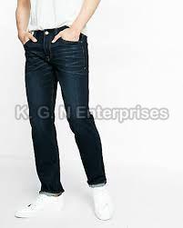 Mens Denim Black Jeans