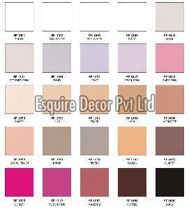 Royal Chellenge Premium Plain Colour Collection Laminates
