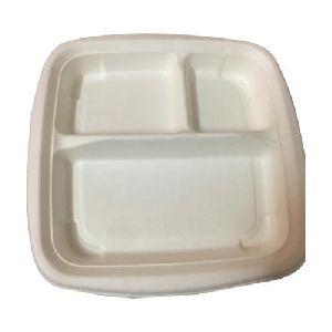 Disposable Sugarcane Bagasse Plate