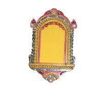 Beautiful Painted Decorative Gift Wooden Jharokha