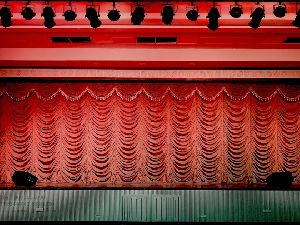 Auditorium Vertical Up-lift Stage Curtain