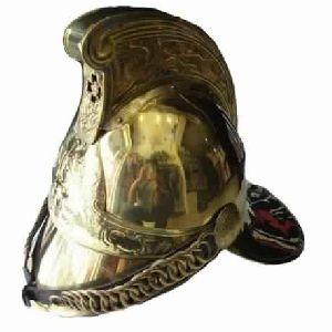 Brass Fireman Helmet