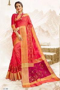 55181 Garba Silk Saree