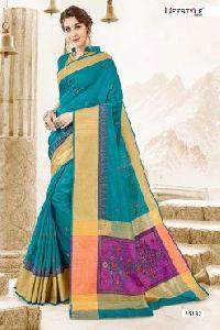 55182 Garba Silk Saree