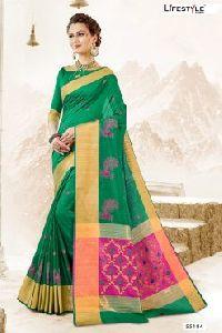55184 Garba Silk Saree