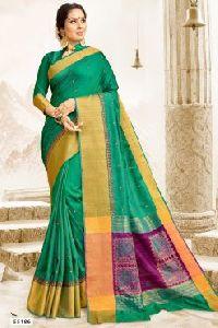 55186 Garba Silk Saree