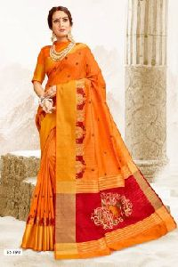 55190 Garba Silk Saree