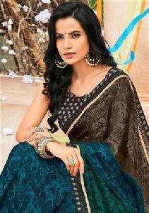 5515 Laxmipati Multicolor Satin Silk Rangtari Saree