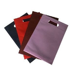 D Cut Non Woven Plain Bag