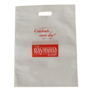 D Cut Printed Shopping Bag