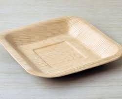 Arecanut Leaf Deep Square Plates