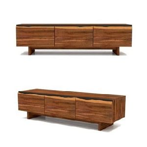 Live Edge collection 3 Drawer sideboard