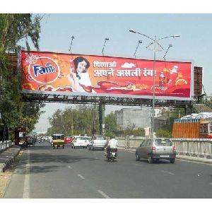 Foot Over Bridge Advertising