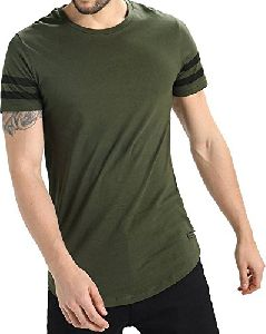 Casual Mens Round Neck T Shirt