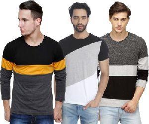 Designer Mens Round Neck T Shirts