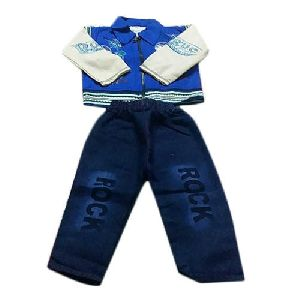 Kids Blue Baba Suit