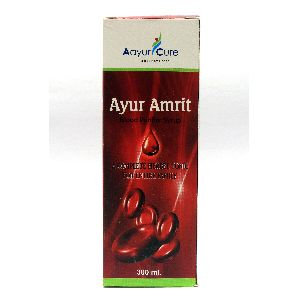 Ayurcure Ayur Amrit Blood Purifier Syrup For Entire Family - 300ml
